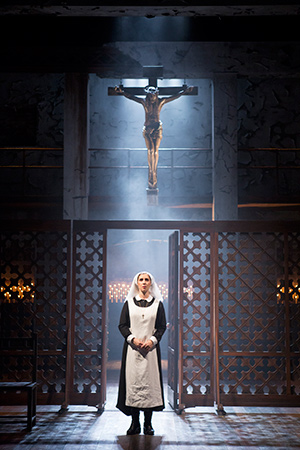 Miriam Silverman as Isabella in the Shakespeare Theatre Company production of 'Measure for Measure', directed by Jonathan Munby. Photo by Scott Suchman.
